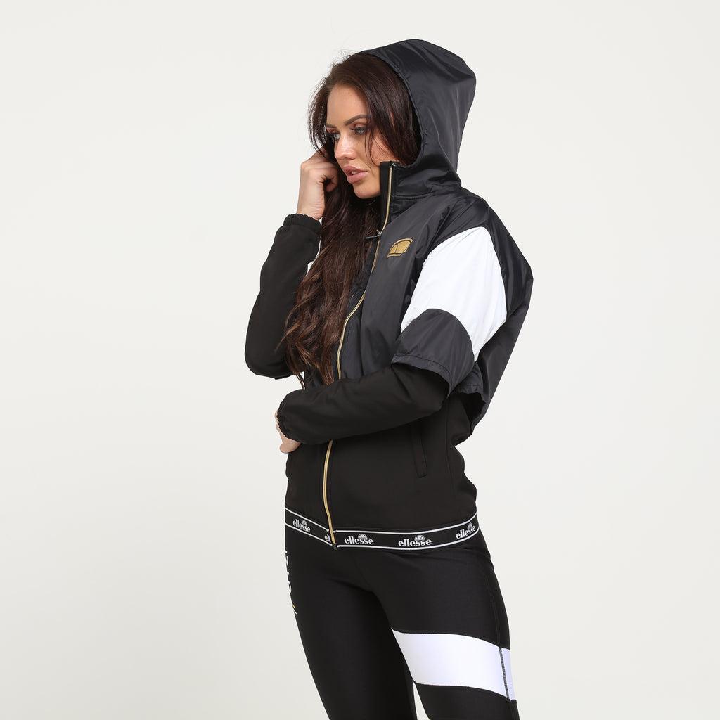 Ellesse Women's Jacket Gianduiotto Anthracite Overlayed MVUzpS