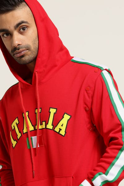 Eternity BC/AD Italia City Detach Sleeve Hood Red