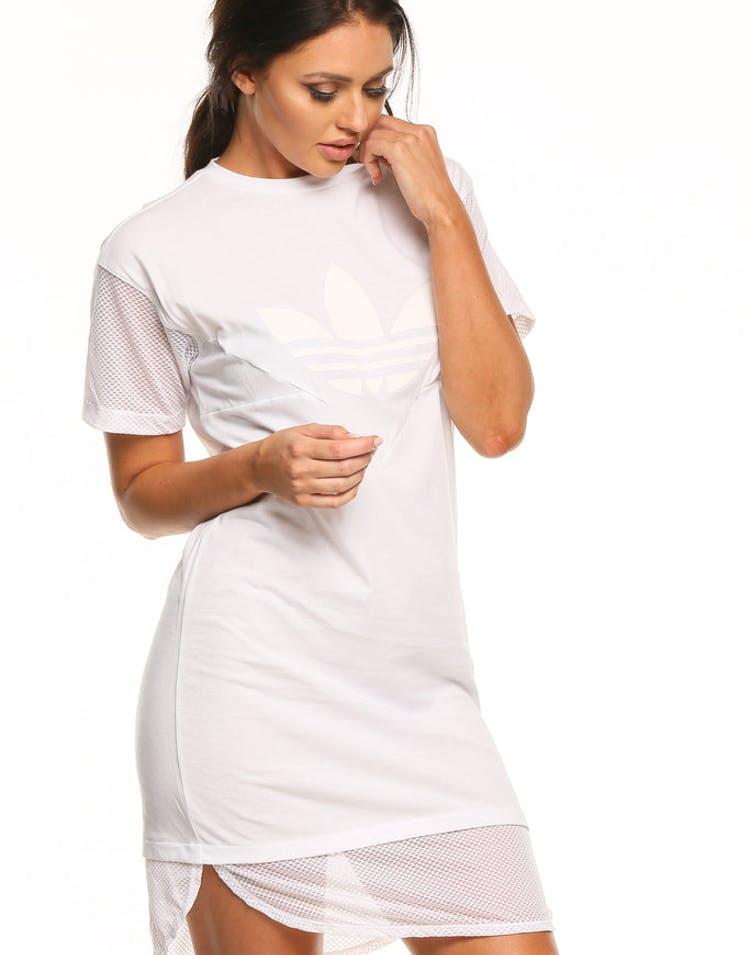 f07f2f0a833 Adidas CLRDO Tee Dress White – Culture Kings