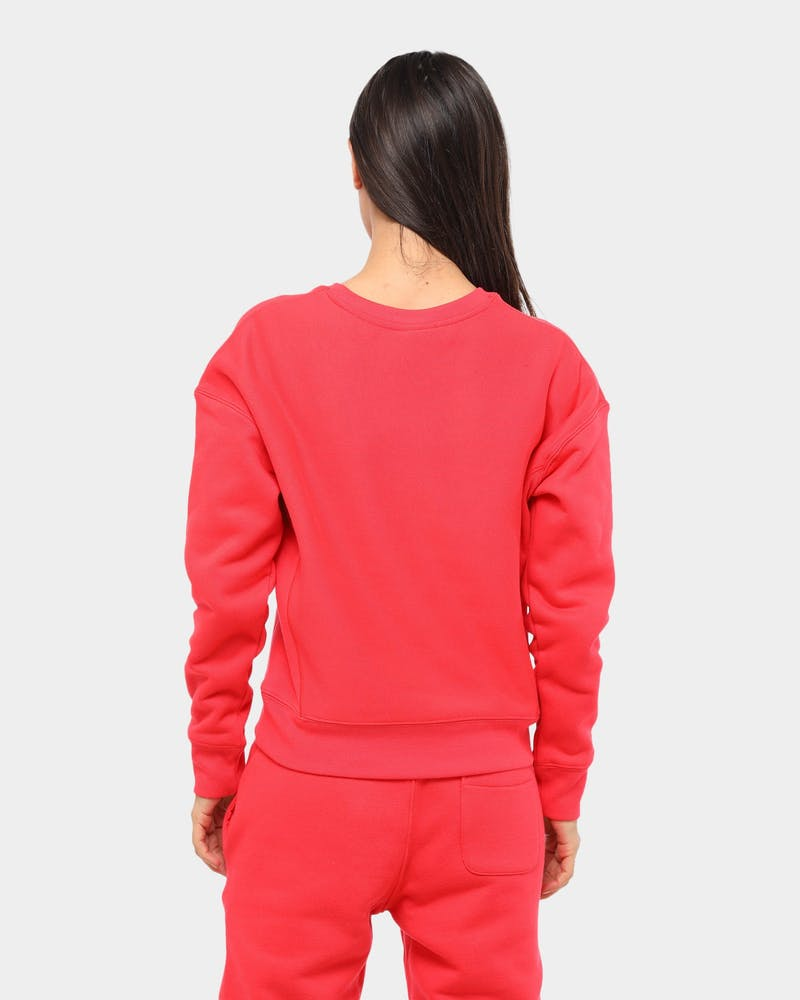 Champion Women's Reverse Weave Crew Red