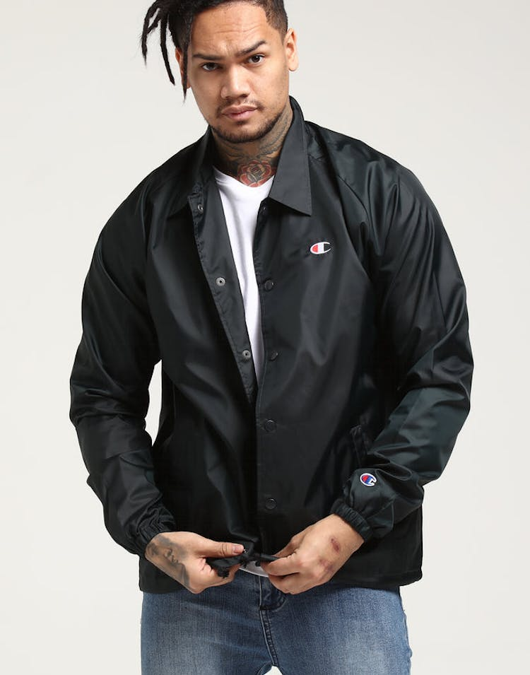 280fb9ad139 Champion Coaches Jacket Black – Culture Kings