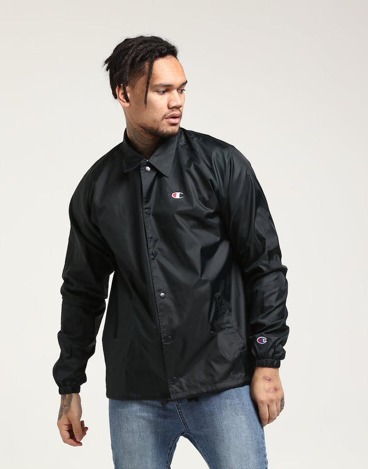 a6e371437af8 Champion Coaches Jacket Black – Culture Kings