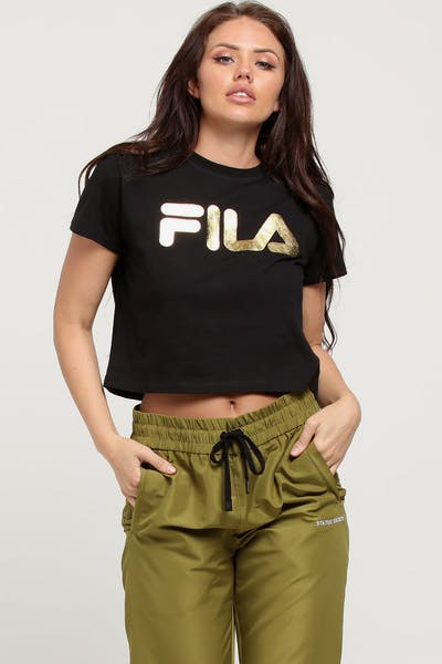 Fila Women's Gold Tee Black