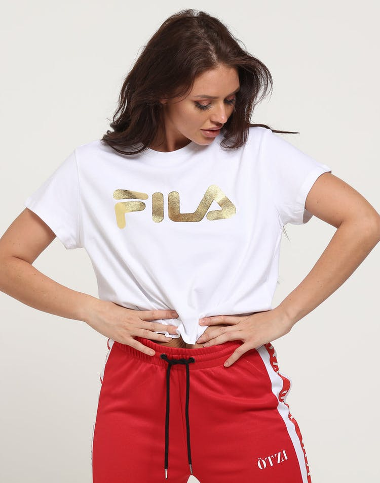 Fila Women's Gold Tee White