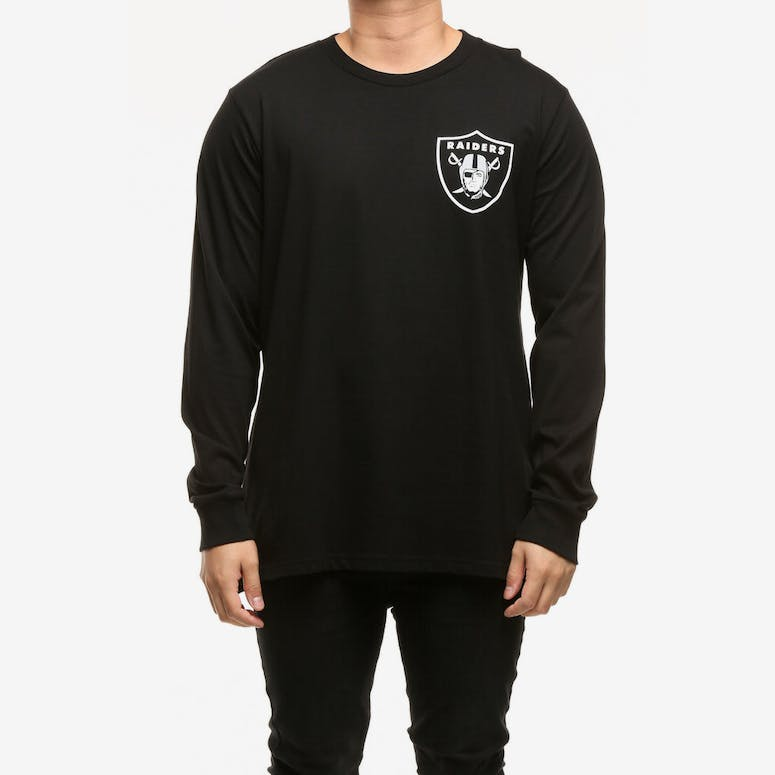 Majestic Athletic Oakland Raiders Vigar LS Tee Black White – Culture Kings 0c716cff6