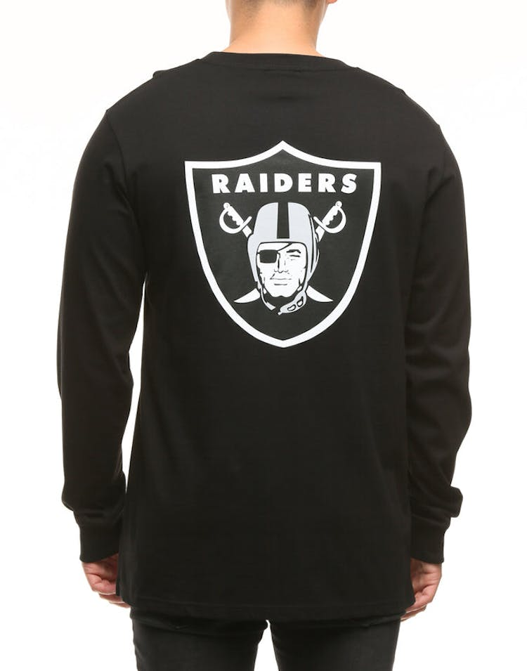331816bc Majestic Athletic Oakland Raiders Vigar LS Tee Black/White