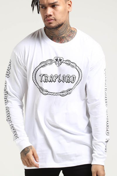 Traplord Tour LS Tee White