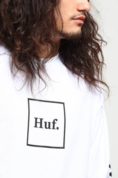 HUF Domestic LS Tee White