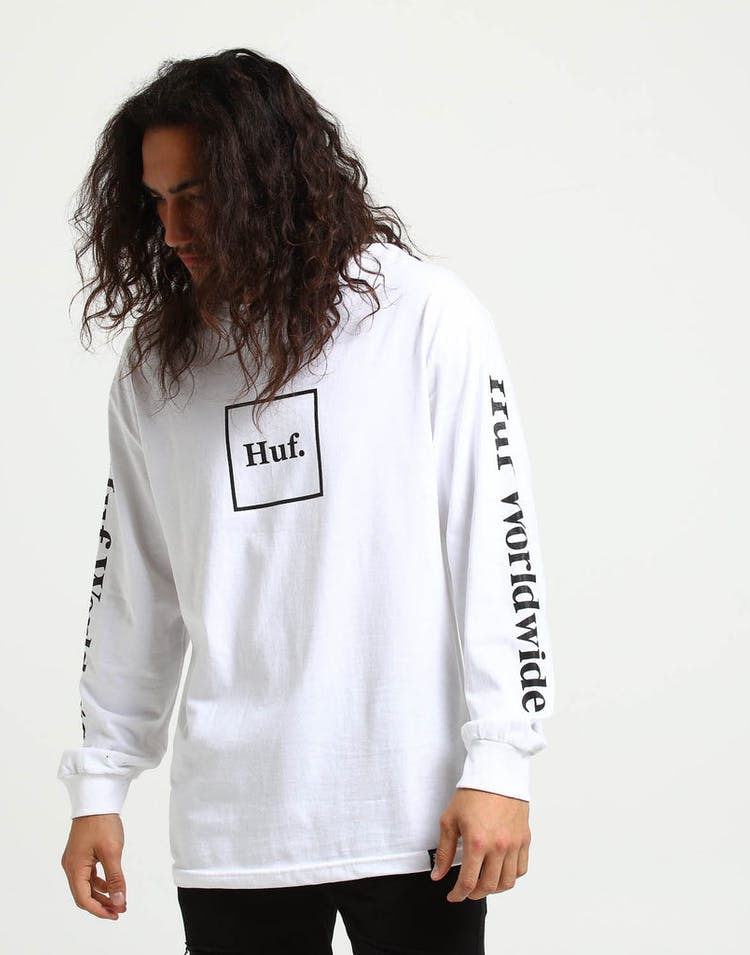 4f02d0b1e5 HUF Domestic LS Tee White – Culture Kings