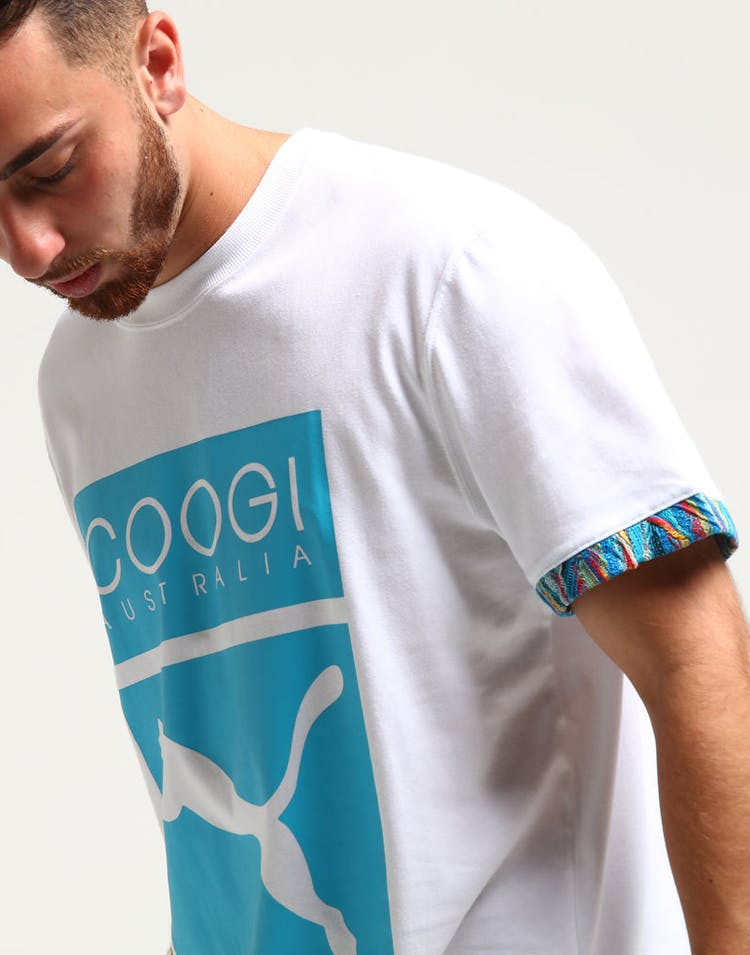 1b4ca3e1dda Puma X Coogi Box Logo Tee White – Culture Kings