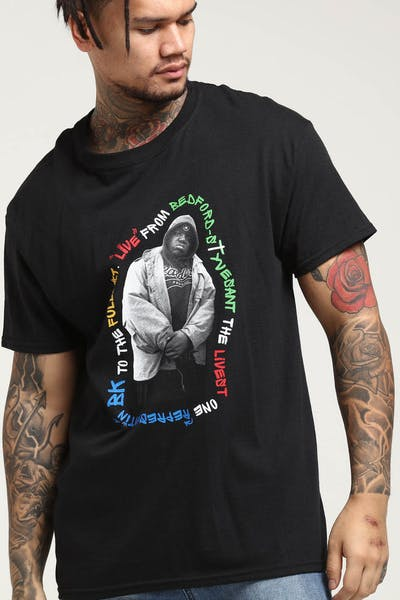 Notorious B.I.G X Culture Kings Unbelievable Tee Black