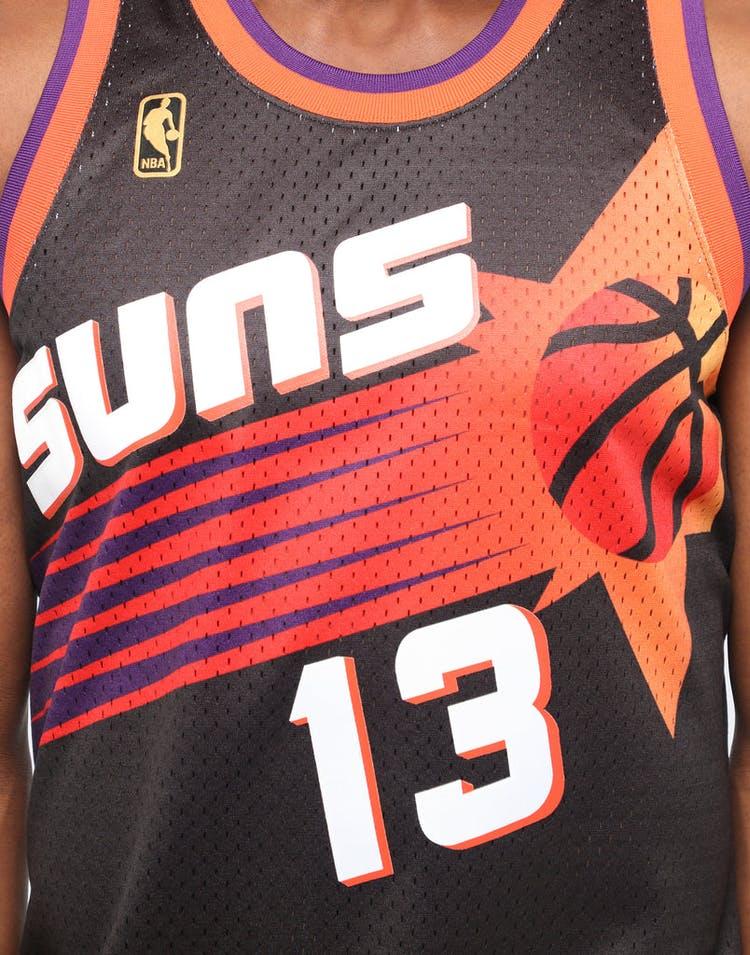 newest b54cc b81bf Mitchell & Ness Phoenix Suns Steve Nash #13 NBA Jersey Black