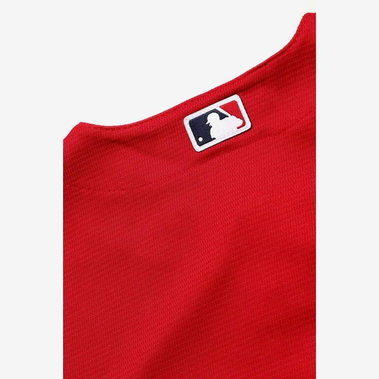 Majestic Athletic Kids Boston Replica Jersey Red