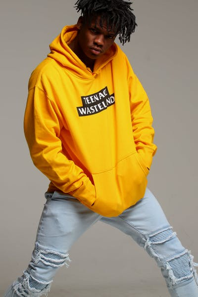 Los Angeles RadYo! Teenage Wasteland Hoodie Gold