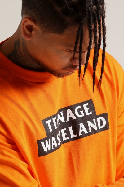Los Angeles RadYo! Teenage Wasteland LS Tee Orange