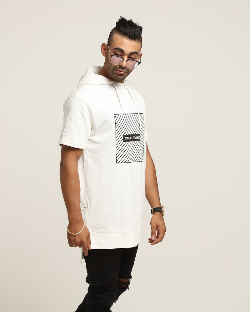 Carré Danger Vaurien SS Hood Off White