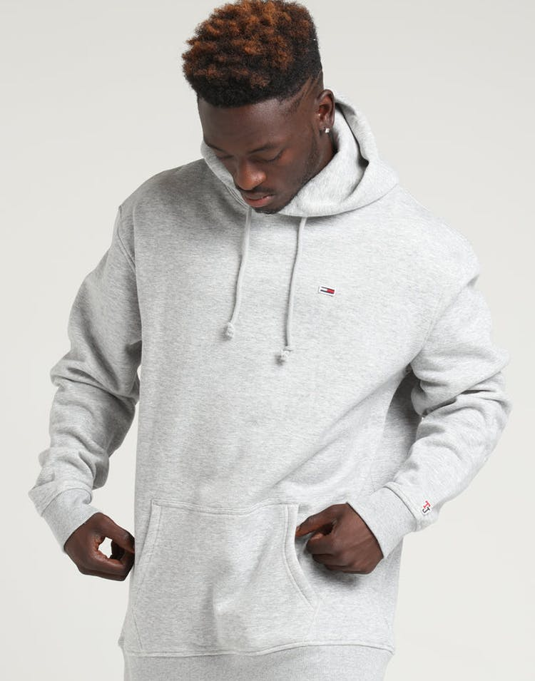 ee478c78c Tommy Jeans TJM Tommy Classics Hoodie Light Grey – Culture Kings