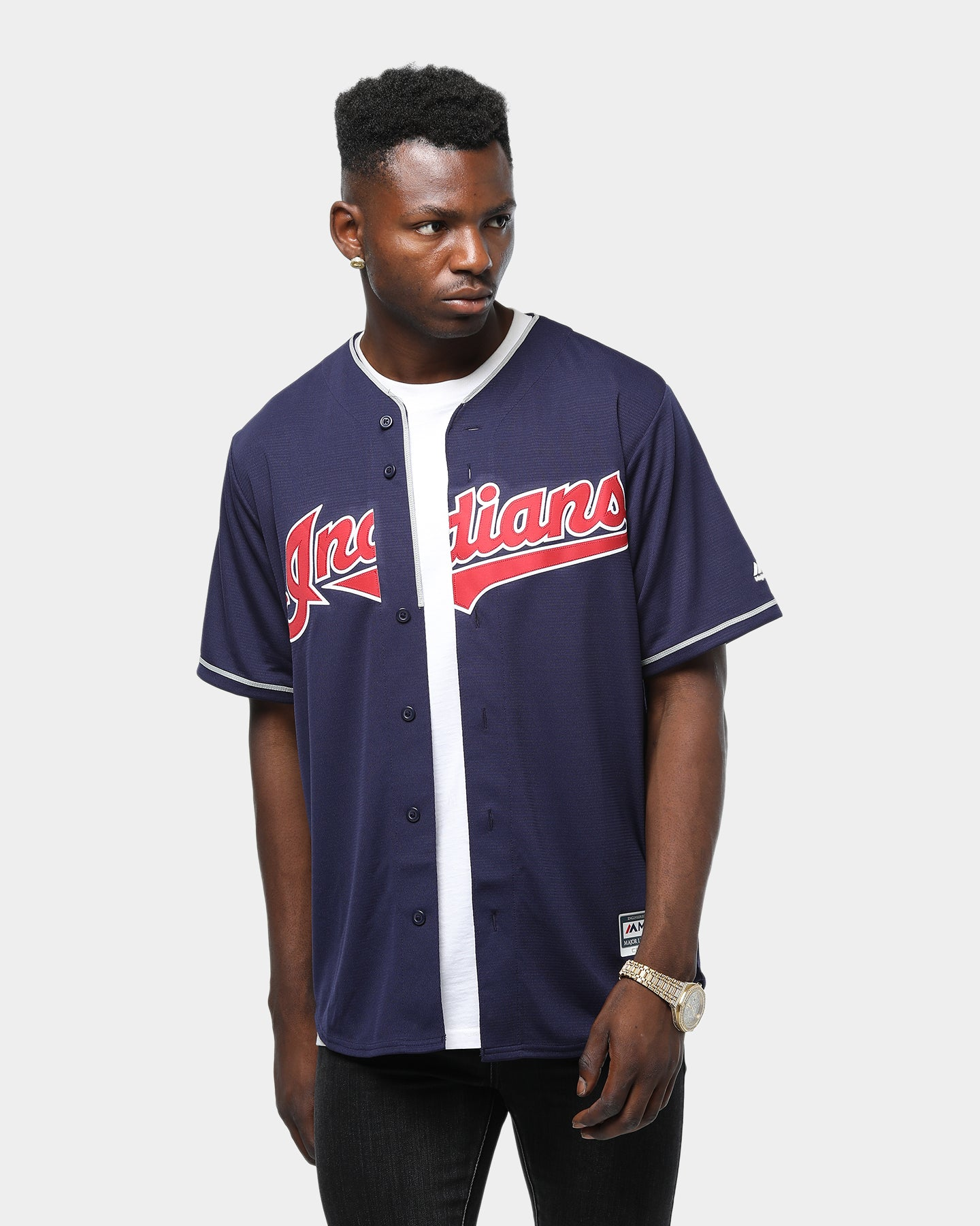 Majestic MLB Kids Cleveland Indians Classic Shirt and Short Set