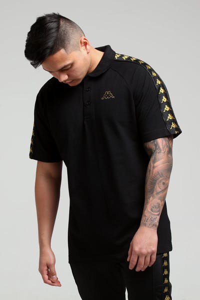 Kappa 222 Banda Calsi Polo Black/Gold