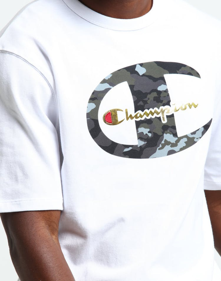 1a3583e3 Champion Heritage Tee Camo C & Gold White – Culture Kings