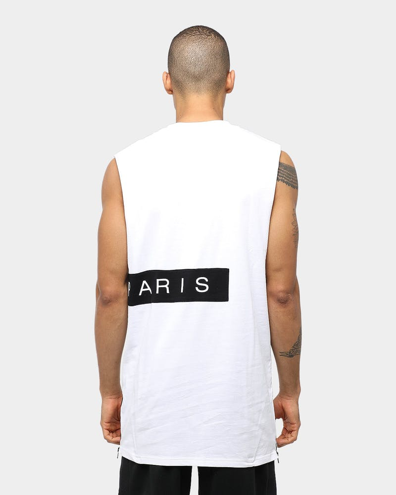Carré Piece Muscle White/Black