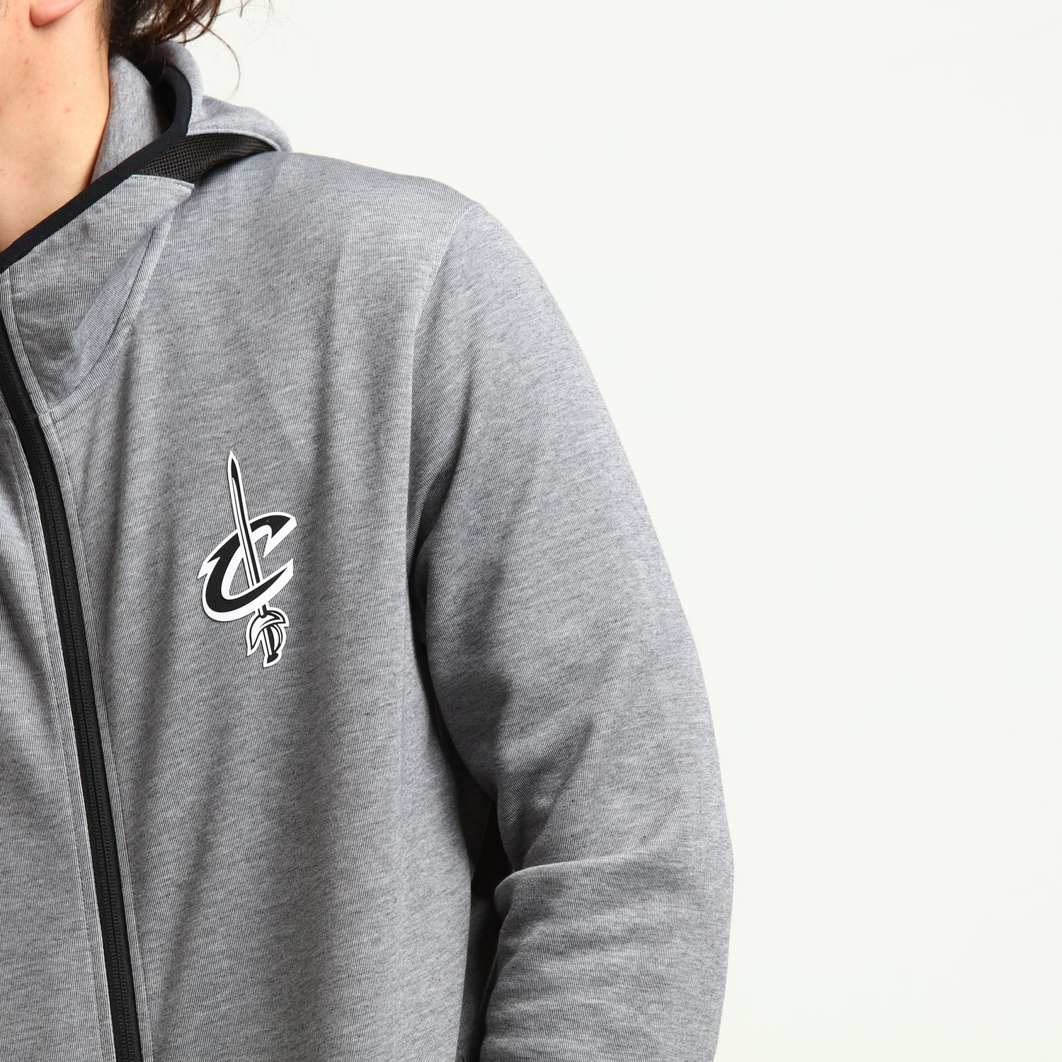 Nike nike jordans with kevlar and gold price guide | Cleveland Cavaliers Dry Showtime Full Zip Hoodie HeatherBlackWhite