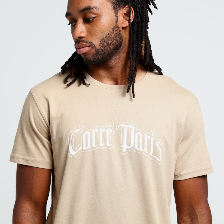 Carré Old Gothic Capone SS Tee Stone