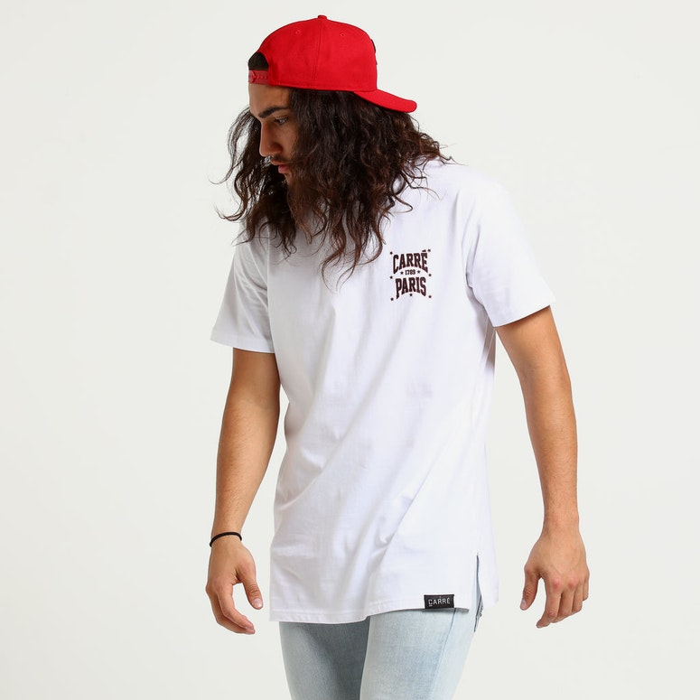Carré Brulant Divise SS Tee White