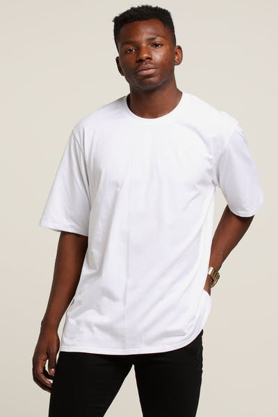 New Slaves Boxy Tee White