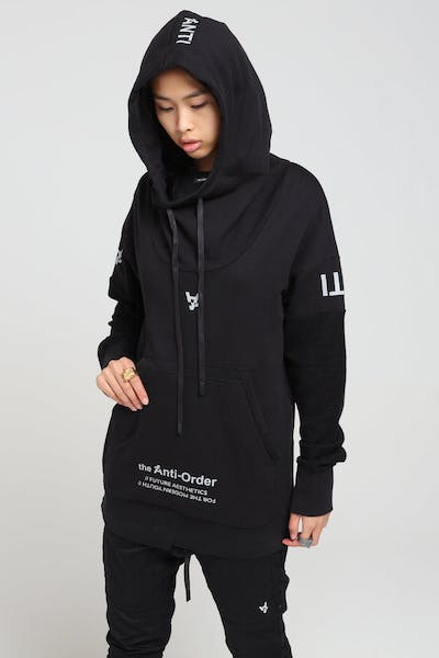 The Anti-Order Future Sport Hoody Black/3M
