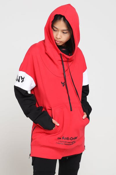 The Anti-Order Future Sport Hoody Red/Black/White