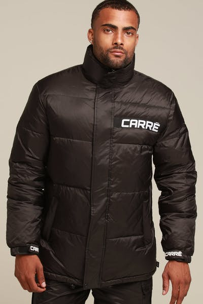 Carré Bouffee Puffer Jacket Black