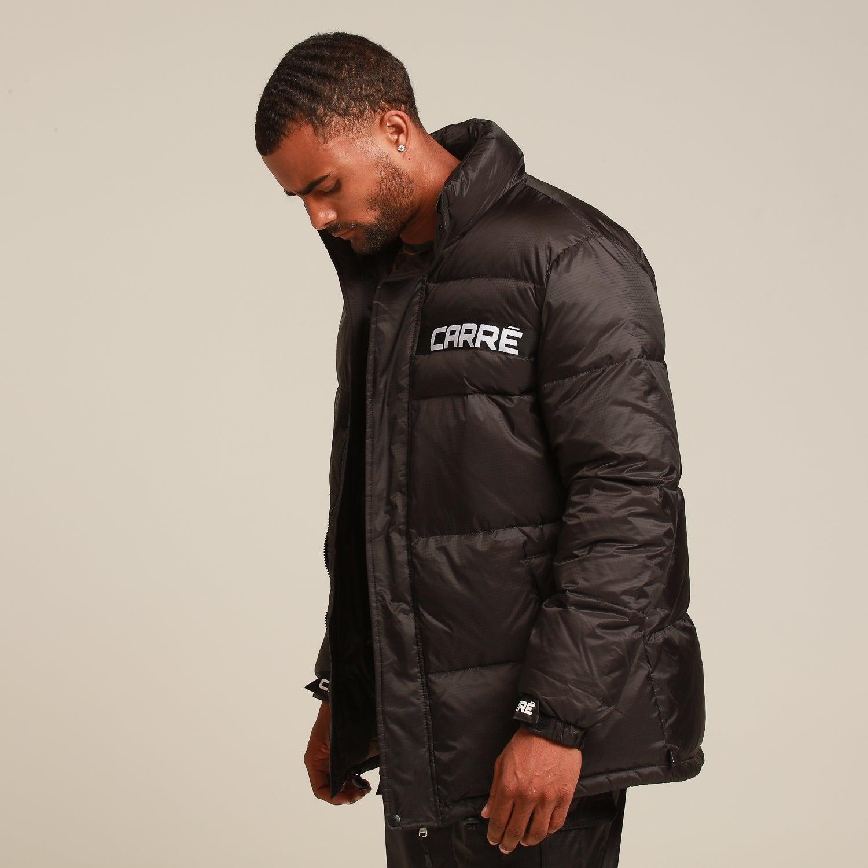 jacket, tumblr, black jacket, down jacket, quilted, pants