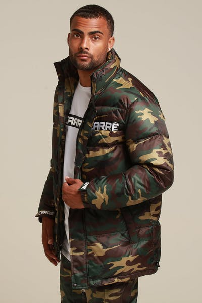Carré Bouffee Jacket Camo