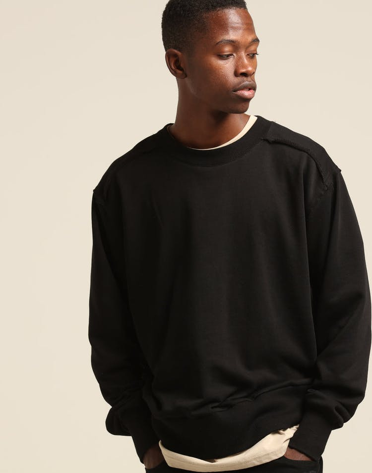 New Slaves Scout Crew Neck Black