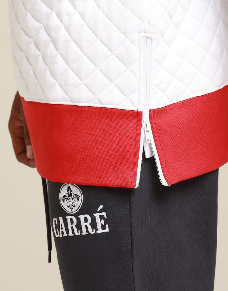 CARRÉ PROMINENT CREWNECK NAVY/WHITE/RED