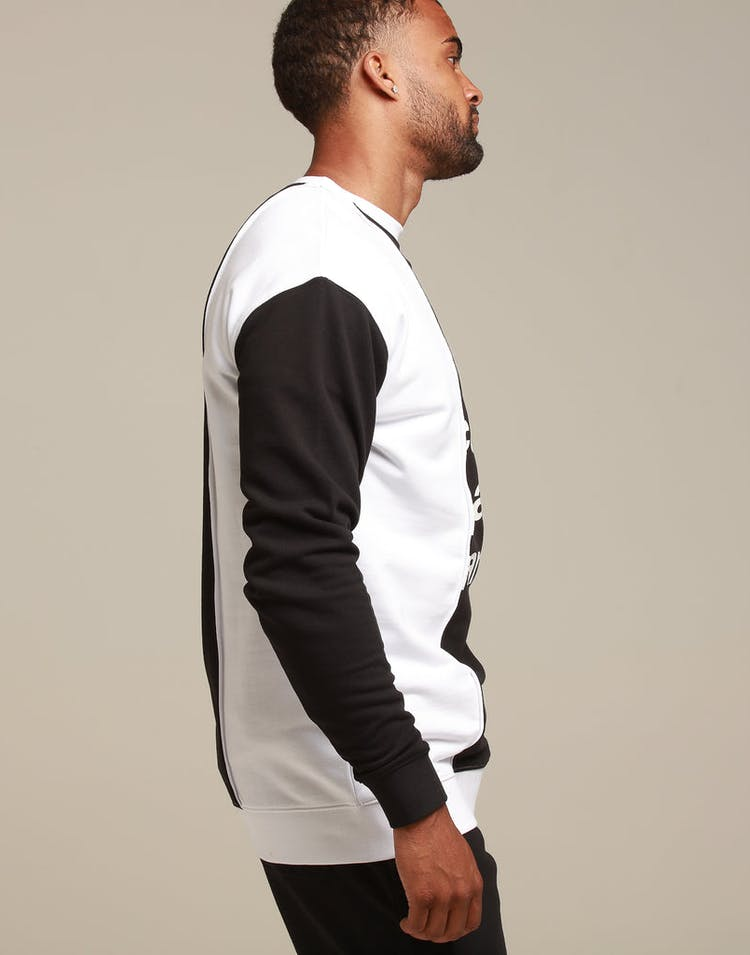 CARRÉ HACHER CREWNECK BLACK/WHITE
