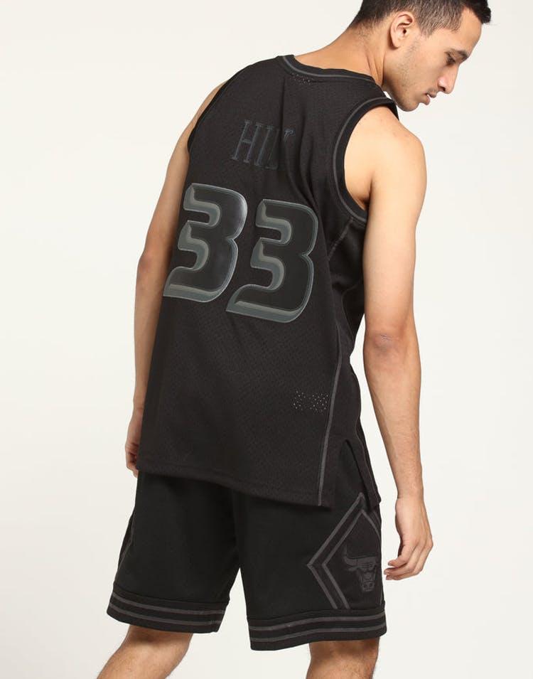 separation shoes c0af9 8a51b Mitchell & Ness Detroit Pistons Grant Hill #33 Swingman NBA Jersey Black