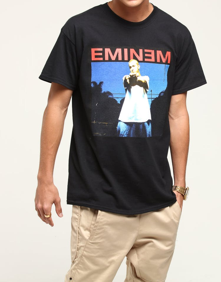 Eminem Photo Tee Black