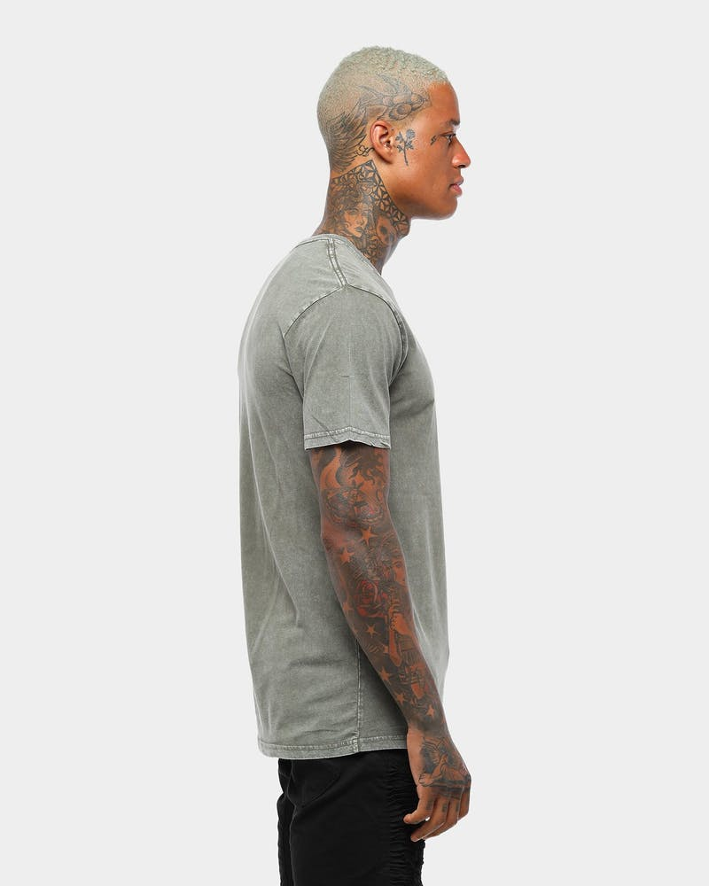 AS COLOUR Stone Wash Staple Tee Moss