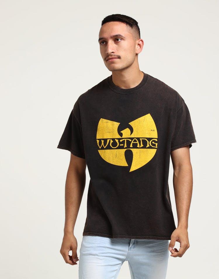 Wu Tang Brand Limited WTC Logo Vintage Tee Black