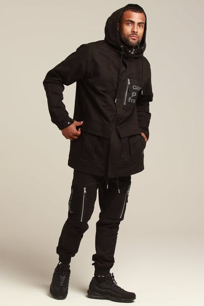 Carré Cadrer Parka Jacket Black