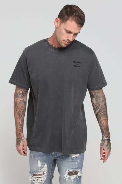 District Goods Vital Tee Charcoal