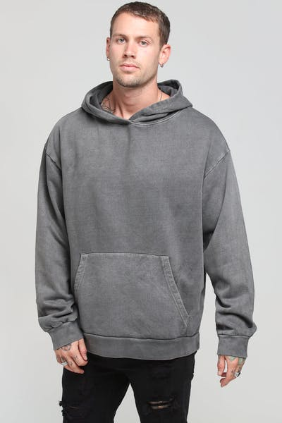 District Goods Lead Hoodie Charcoal