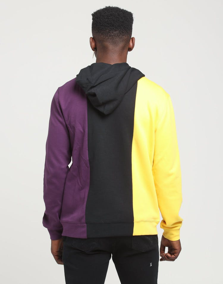 Black Pyramid 3 Way Split Hoody Yellow/Multi-Coloured
