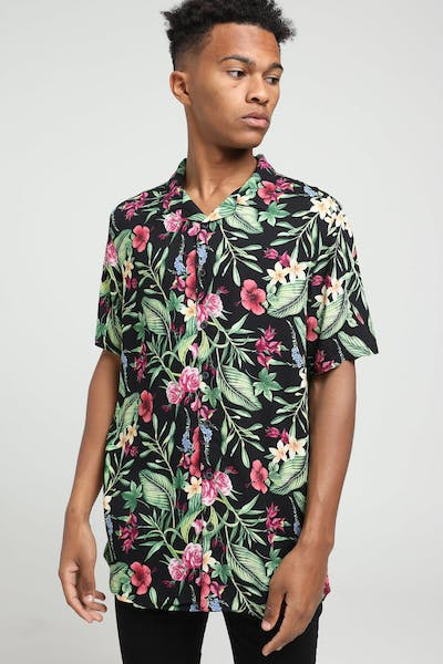 New Slaves Frangipani Shirt Multi-Coloured