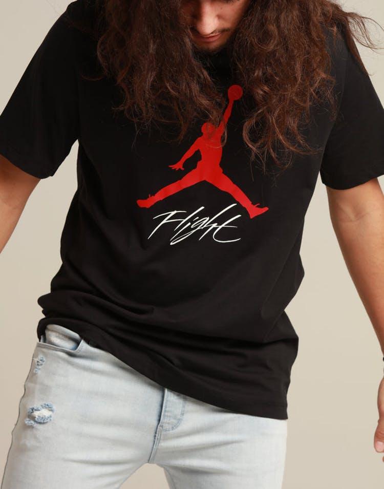 91a8e6d36a24ba Jordan Jumpman Flight Tee Black Red – Culture Kings