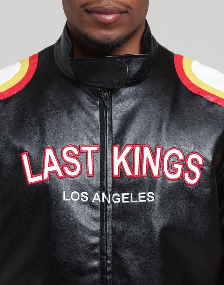 da0d9c7b1 Last Kings Motorcycle Jacket Black