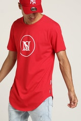 SAINT MORTA CENTRAL EL DUPLO SS TEE RED