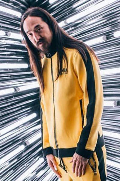 Dim Mak Bruce Lee Track Jacket Yellow